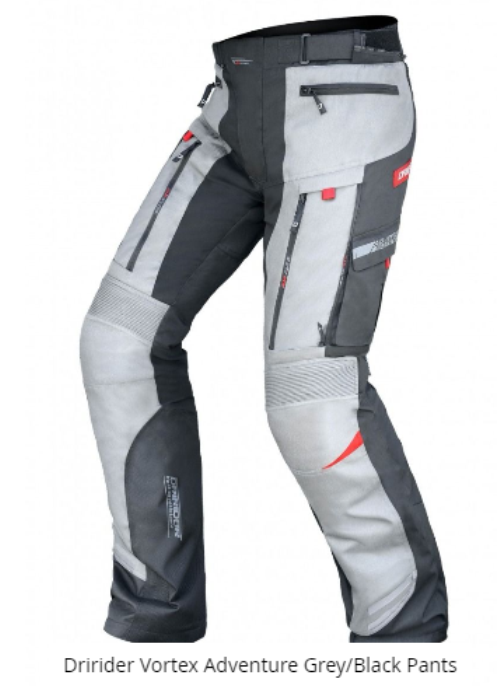 DRIRIDER VORTEX Motorcycle Wateproof Pants 5XL - image vortex-grey-not-vortex-2 on https://www.bargainbikebits.com.au