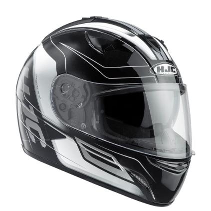 HJC TR-1 Skyride Motorcycle Helmet WITH SUNVISOR Black - image 5 on https://www.bargainbikebits.com.au