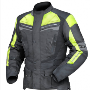 Dririder Apex 4 Motorcycle Jacket (Hi Vis Yellow) - image yellow-300x300 on https://www.bargainbikebits.com.au