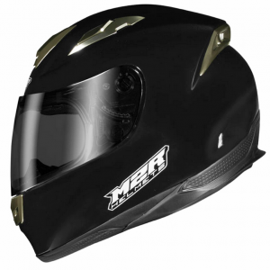 M2R 901 Flip Up Motorcycle Helmet  (matt black) - image M4-BLACK-300x300 on https://www.bargainbikebits.com.au