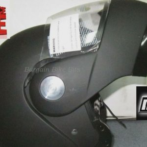 M2R 901 Flip Up Motorcycle Helmet  (matt black) - image MR901-FLIP-UP-300x300 on https://www.bargainbikebits.com.au