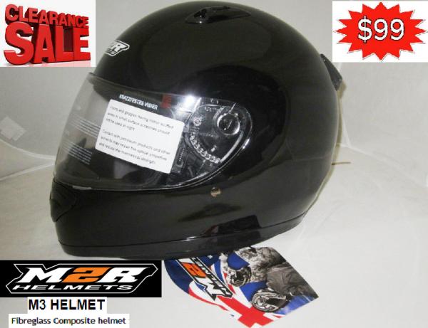 M2R M3 Motorcycle Helmet NEW Gloss black FIBREGLASS COMPOSITE - image m3..-600x461 on https://www.bargainbikebits.com.au