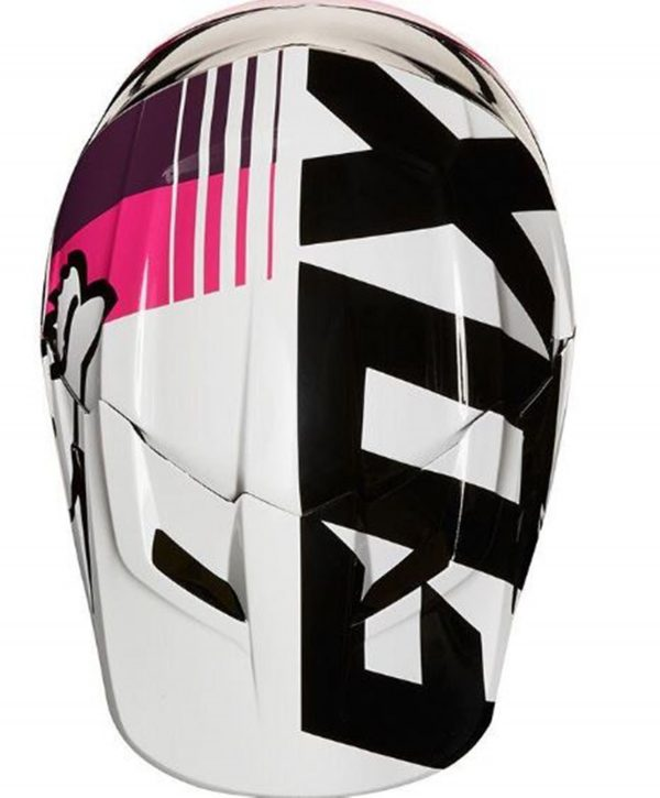 FOX Girls Motocross Helmet Pink Youth Halyn Dirt Bike MX - image 2-1-600x725 on https://www.bargainbikebits.com.au