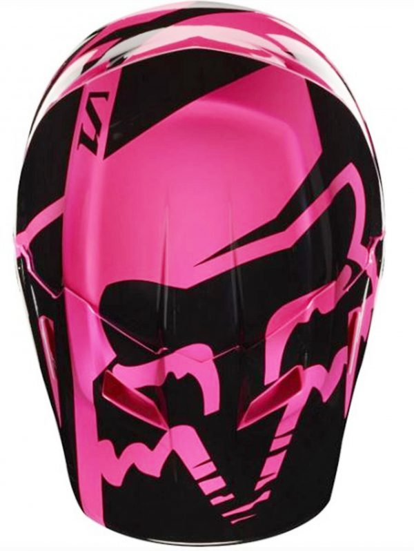 FOX Girls Motocross Helmet Pink Youth Dirt Bike MX Yth Lg - image 8-600x798 on https://www.bargainbikebits.com.au