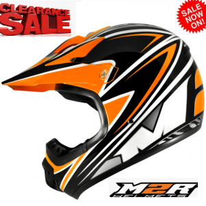 M2R 901 Flip Up Motorcycle Helmet  (matt black) - image M2R-SX100-BRANDED-300x300 on https://www.bargainbikebits.com.au