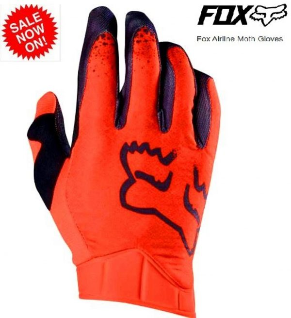 Fox Airline Moth Motocross gloves (KTM Orange) Lg / 2XL - image airline-moth-600x655 on https://www.bargainbikebits.com.au