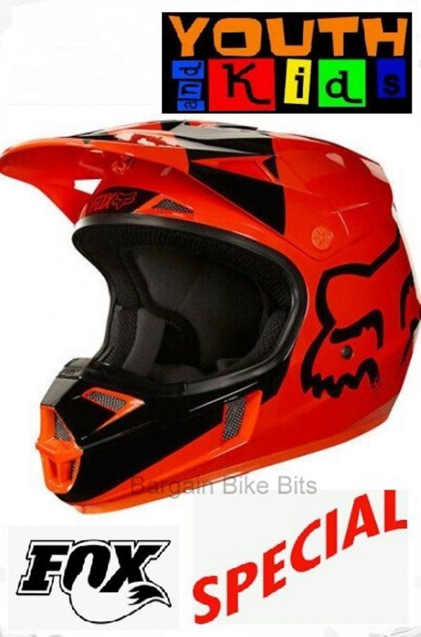 FOX Youth Motocross Helmet KTM Orange MASTAR Kids Dirt Bike MX - image bbb-mastar-600x908 on https://www.bargainbikebits.com.au