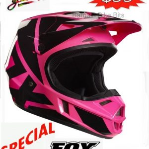 FOX Girls Motocross Helmet Pink Youth Dirt Bike MX Yth Lg - image bbb-pink-V1-300x300 on https://www.bargainbikebits.com.au