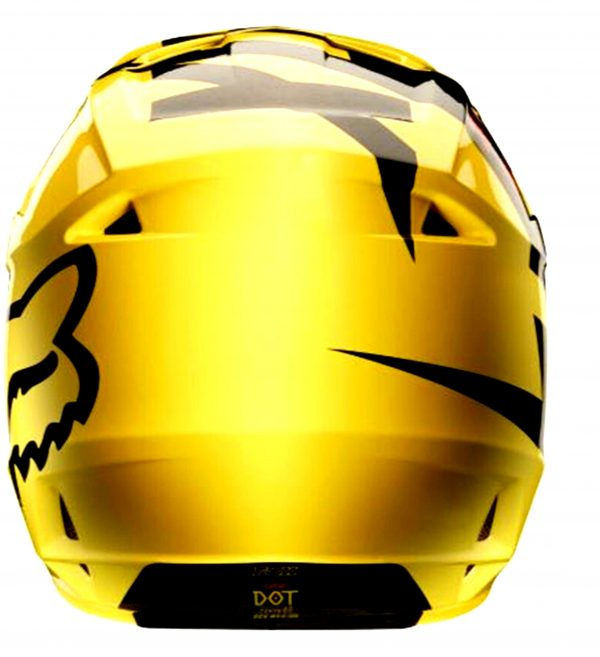 FOX Youth Motocross Helmet Yellow MASTAR Kids Dirt Bike MX - image y1-600x657 on https://www.bargainbikebits.com.au