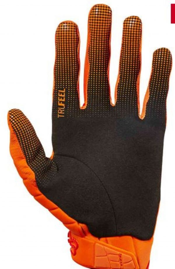 Fox 360 Grav Motocross gloves (KTM orange) - image 5-600x919 on https://www.bargainbikebits.com.au