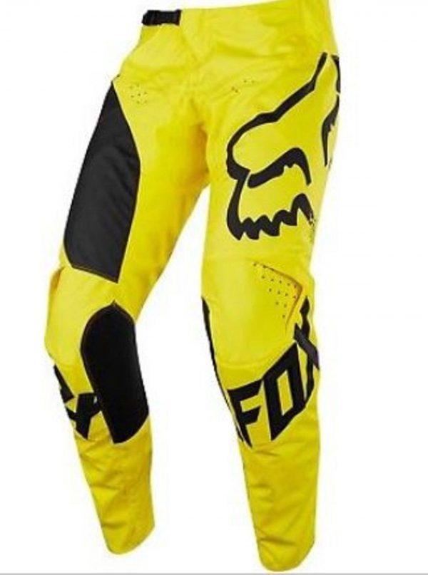 Fox Youth Motocross pants & jersey Mastars #24 /YM Suzuki Yellow Kids BMX MX - image 8-600x807 on https://www.bargainbikebits.com.au