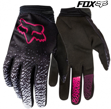 Fox Girls Youth Motocross gloves Pink - image Pink on https://www.bargainbikebits.com.au