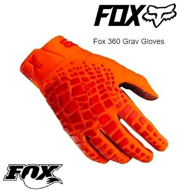 Fox 360 Grav Motocross gloves (KTM orange) - image grav-2018-600x638 on https://www.bargainbikebits.com.au