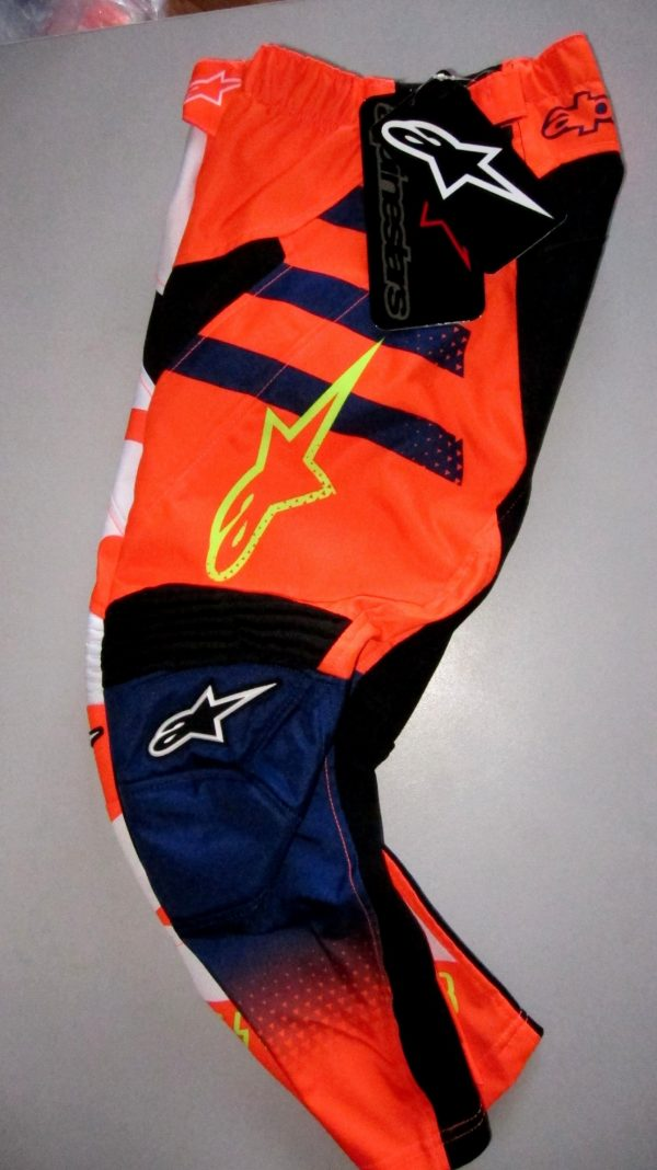 Alpinestars Youth Kids Motocross pants KTM Orange Braap BMX MX - image 6-600x1068 on https://www.bargainbikebits.com.au