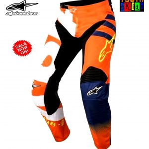 Fox Airline Moth Motocross gloves (KTM Orange) Lg / 2XL - image Alpinestars-Braap-Orange-blue-300x300 on https://www.bargainbikebits.com.au