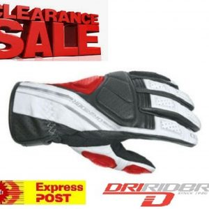 Dririder 'JET' Waterproof Motorcycle Gloves - image red-300x300 on https://www.bargainbikebits.com.au