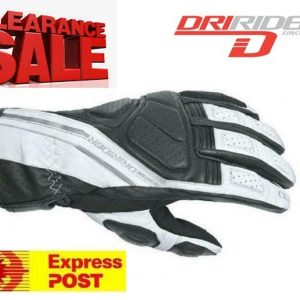 Dririder 'JET' Waterproof Motorcycle Gloves - image white-300x300 on https://www.bargainbikebits.com.au