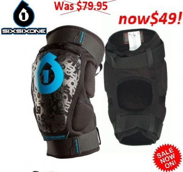 SixSixOne 661 USA RAGE KneeguardsMens Med knee guards - image RAGE-KNEEGUARDS.1-600x562 on https://www.bargainbikebits.com.au