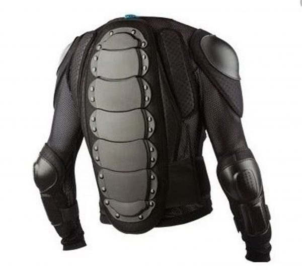 Youth Kids 661 Dirt Bike Body Armour Chest Protection MX BMX - image YOUTH-BACK-600x550 on https://www.bargainbikebits.com.au
