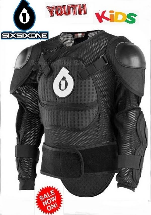 Youth Kids 661 Dirt Bike Body Armour Chest Protection MX BMX - image bbb-YOUTH-1-600x851 on https://www.bargainbikebits.com.au