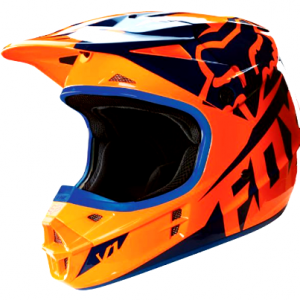 FOX Girls Motocross Helmet Pink Youth Dirt Bike MX Yth Lg - image orange-blue-300x300 on https://www.bargainbikebits.com.au
