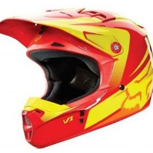 FOX Girls Motocross Helmet Pink Youth Dirt Bike MX Yth Lg - image v2-orange-yellow-300x300 on https://www.bargainbikebits.com.au