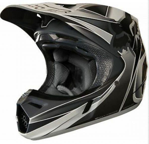 FOX V3 KUSTM Motocross Helmet NEW MIPS Blk Grey MX DirtBike Off Road - image 1-2-600x580 on https://www.bargainbikebits.com.au