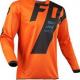 Orange motocross jersey