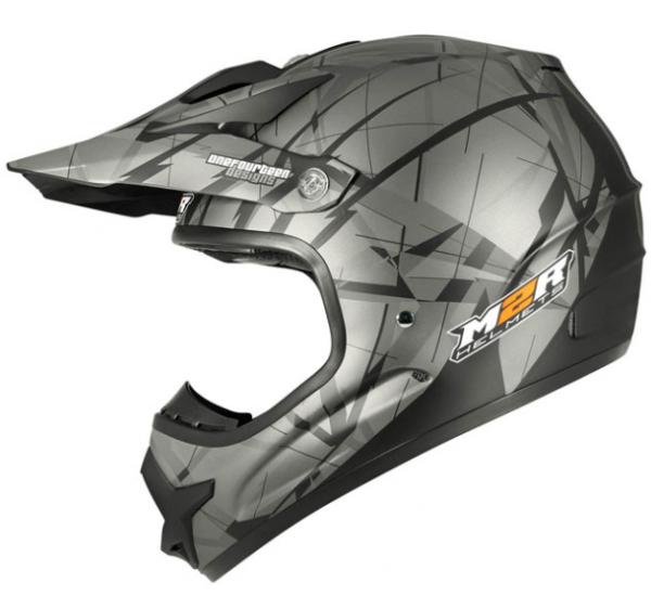 M2R X2.6 Motocross Helmet Lg TRI-COMPOSITE!  matt silver/black MX - image LINEAR-X2.6-600x550 on https://www.bargainbikebits.com.au