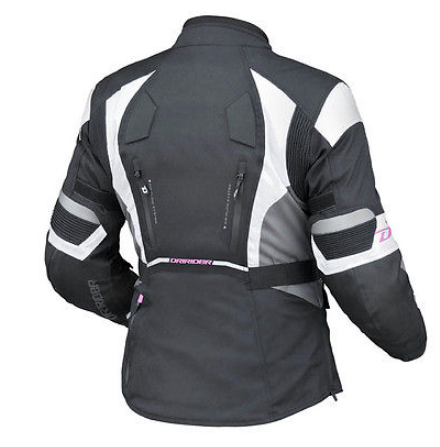 Dririder Female Apex 4 Motorcycle Jacket (black) Ladies Womens - image apex-4-ladies on https://www.bargainbikebits.com.au