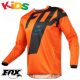 Orange Kids Motocross Jersey